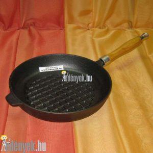 Öntöttvas grillserpenyő 24 cm