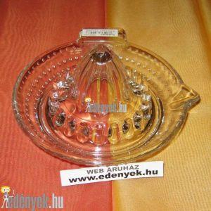 Üveg citromfacsaró 14 cm átmérővel