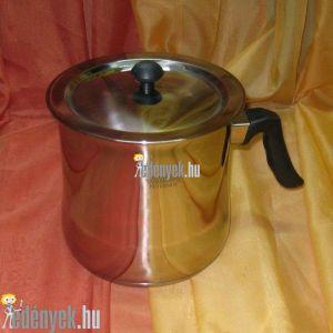 Indukciós tejforraló rozsdamentes dupla fallal 2,50 literes