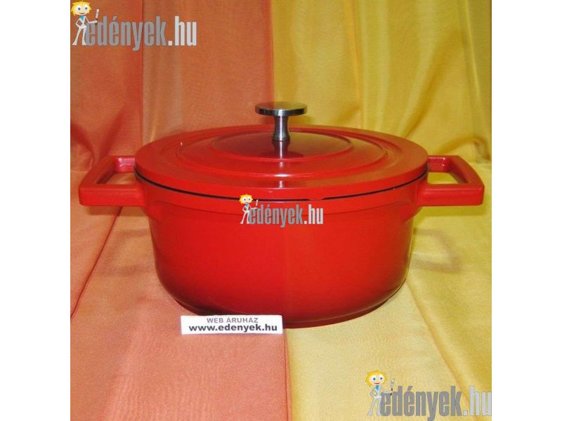Indukciós fazék fedővel Qualum Basic bevonattal 2,50 literes