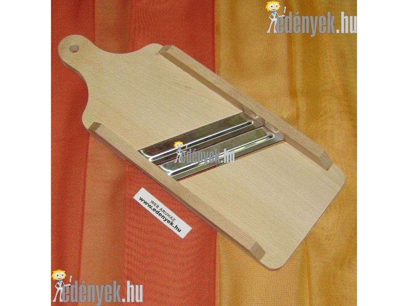 Nyeles káposztagyalu két késes 36 cm