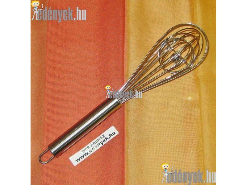 Rozsdamentes habverő acélgolyóval 20 cm