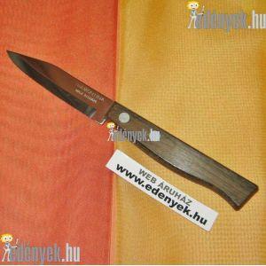 Fanyelű uzsonnázó kés rövid pengével