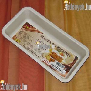 Kerámiabevonatos kalács és kenyérsütő forma 33 cm