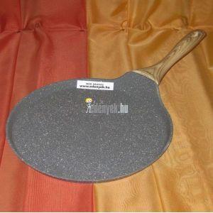 Gránitbevonatos indukciós palacsintasütő 28 cm