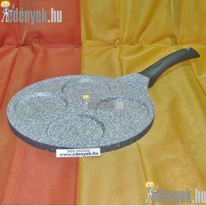 Indukciós tükörtojás és amerikai palacsintasütő gránitbevonattal 26 cm