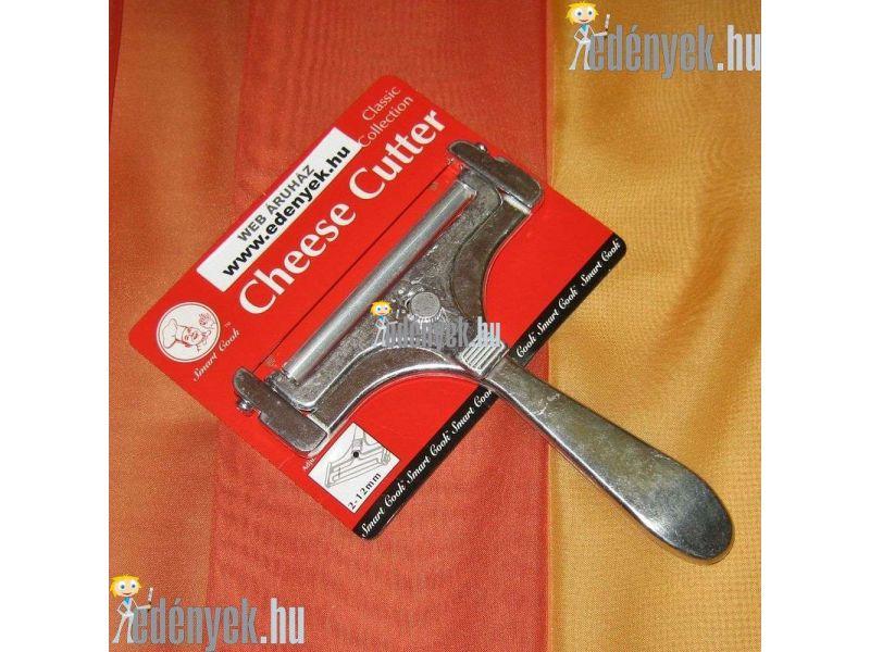 Acélhúros sajtszeletelő