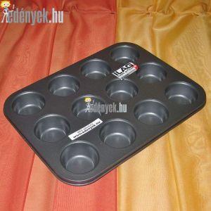 Muffinsütő tapadásmentes bevonattal 12 db-os AMB