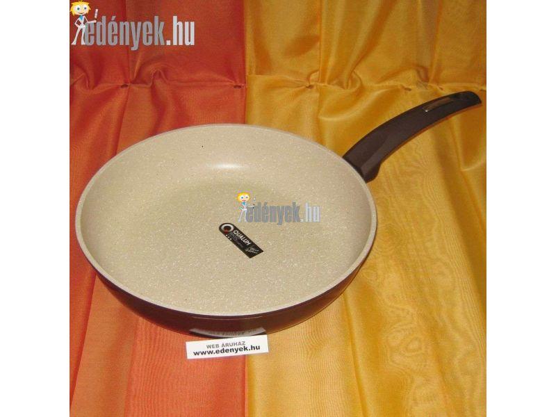 Gránitbevonatos indukciós nyeles serpenyő 28 cm