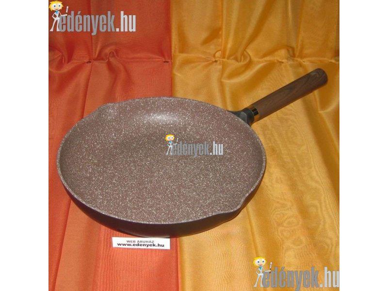 Gránitbevonatos indukciós serpenyő kiöntőkkel 28 cm