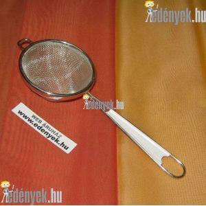 Fém teaszűrő műanyagbetétes nyéllel 7D