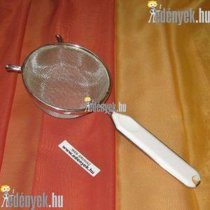 Levesszűrő, teaszűrő műanyagbetétes nyéllel 12D