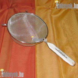 Levesszűrő, teaszűrő műanyagbetétes nyéllel 20D