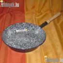 Zománcozott nyeles szeletsütő 26 cm