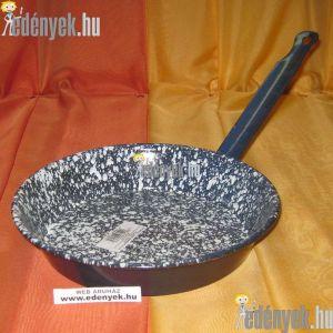 Zománcozott fémnyelű szeletsütő 22 cm