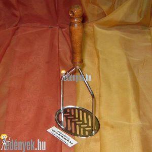 Burgonyatörő krumplitörő hosszú lyukkal