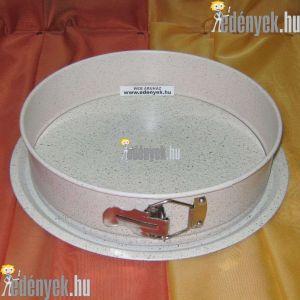 Kapcsos tortaforma gránit bevonattal 26 cm