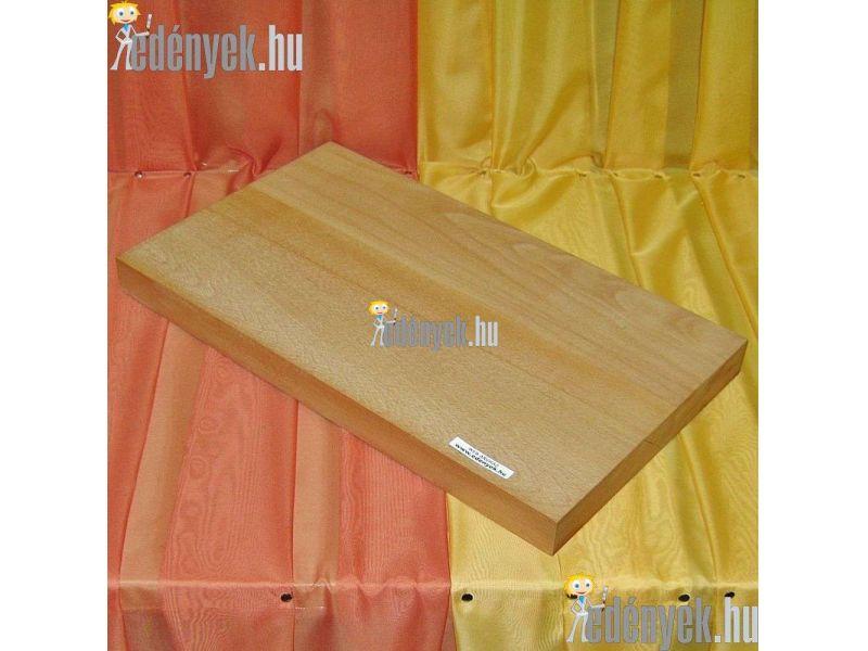 Fa vágódeszka, hentes vágódeszka 60×35×5 cm