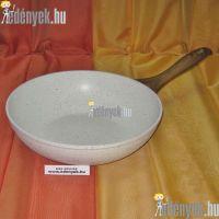 Indukciós wok serpenyő