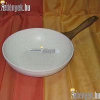 Gránitbevonatos wok serpenyő