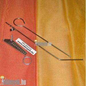 Krumplifúró és sziromvágó fém KC